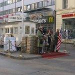 Checkpoint Charlie Foto