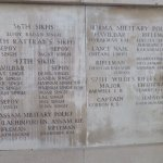 Menin Gate names of men from the then Empire - India and Burma