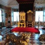 I troni nella 'grande galleria'
