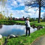 Nice pond.