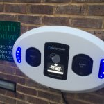 Two EV chargers free to guests