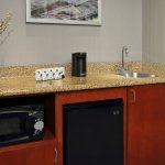 Wet bar of one bedroom suite