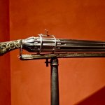 early machine gun/gatling gun