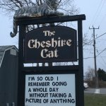 Their sign out front