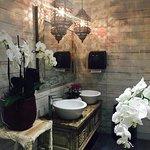 Traditionally designed hygienic lavatory