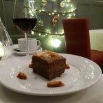 Chocolate torte dessert