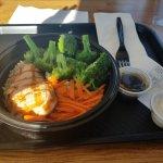 Nice healthy meal