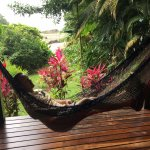 Private Patio overlooking the beach - Toucan's Nest