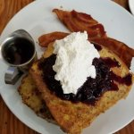 Sour Dough French toast - heavy but very good!