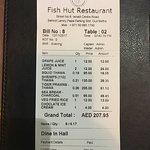 Фотография Dubai fish hut restaurant