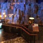 waterfalls inside between casinos