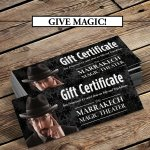 Gift Certificates available online.