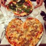 Love-heart pizza