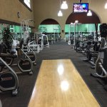More of the workout room.