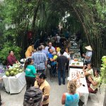 Local Food Market came to Peace Resort in walkway to restaurant and beach