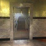 Lift door inside