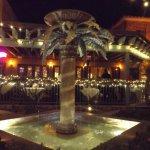 Beautiful lighted patio area