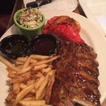 Jack Daniels Ribs & Lobster Tail