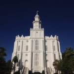 St. George Utah Temple, front facade