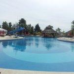 La piscina exterior hemosa