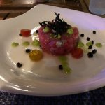 Tuna and oyster tartare