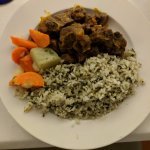Halal Curry Goat! Yum!