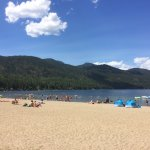 Christina Lake Provincial Park beach area