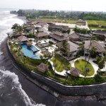 Luxury beachfront villas