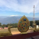 View of Kanchenjunga from the gumpa