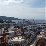 View of Patong Bay