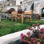Private garden from Catalkaya Suite