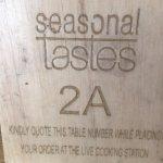 Billede af Seasonal Tastes
