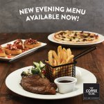 New Menu Available Now