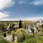 Vue du château dominant la vallée de la Loire (crédit photo Pirouette)