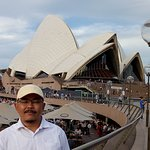 Me and great structure of Opera House