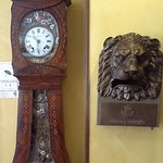 Wonderful antique clock in foyer