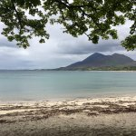 A view of Croagh Patrick from a secret beach