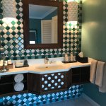 Bathroom tiling and unit