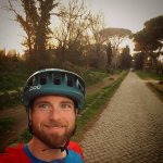 Co-Owner Collin on the Appia Antica in Rome Italy!