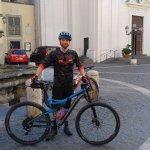 Riding through Italy