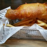 Battered Cod (fish &chips)