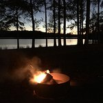 Perfect setting for a campfire.