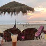 North Agonda beach, early evening.