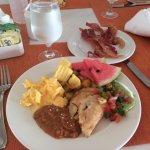 The breakfast buffet was always fantastic!