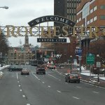 Sign: Welcome to Rochester