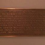 UN Charter Plaque