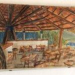 Pagoda restaurant on the Beach !