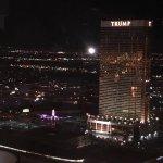 40th floor overlooking the strip