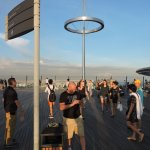 Part of the crowd @ Skydeck