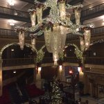"""Holiday"" chandelier in the Atrium"